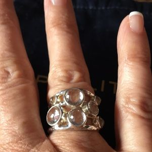 Ippolita Clear Quartz Silver Silver 925 Ring